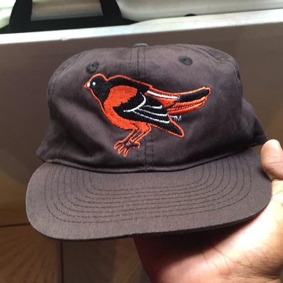 hot sales 6deb9 1b0d1 Vintage Baltimore Orioles Hat. M 5b638c4e800dee81dd614e4a